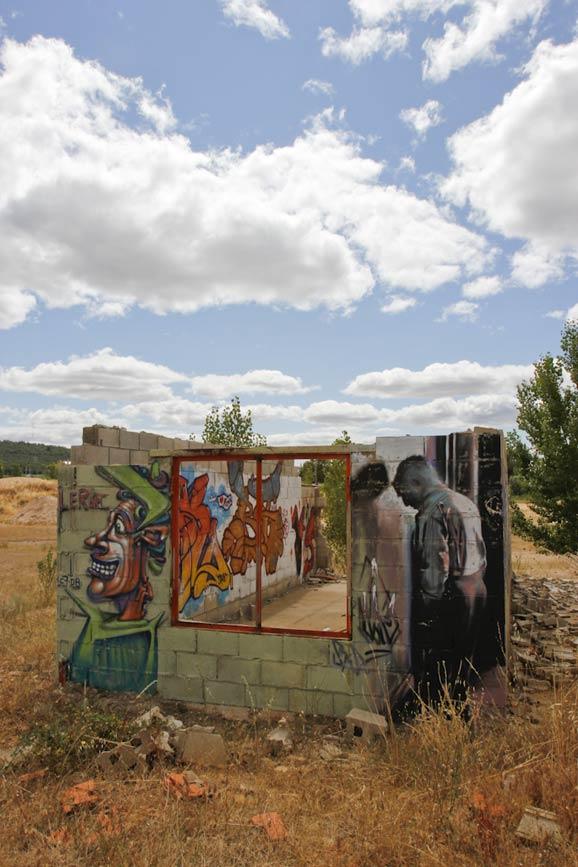 Arte callejero de Irene Prieto